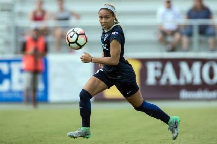 Jaelene Hinkle of the North Carolina Courage. (Shane Lardinois)