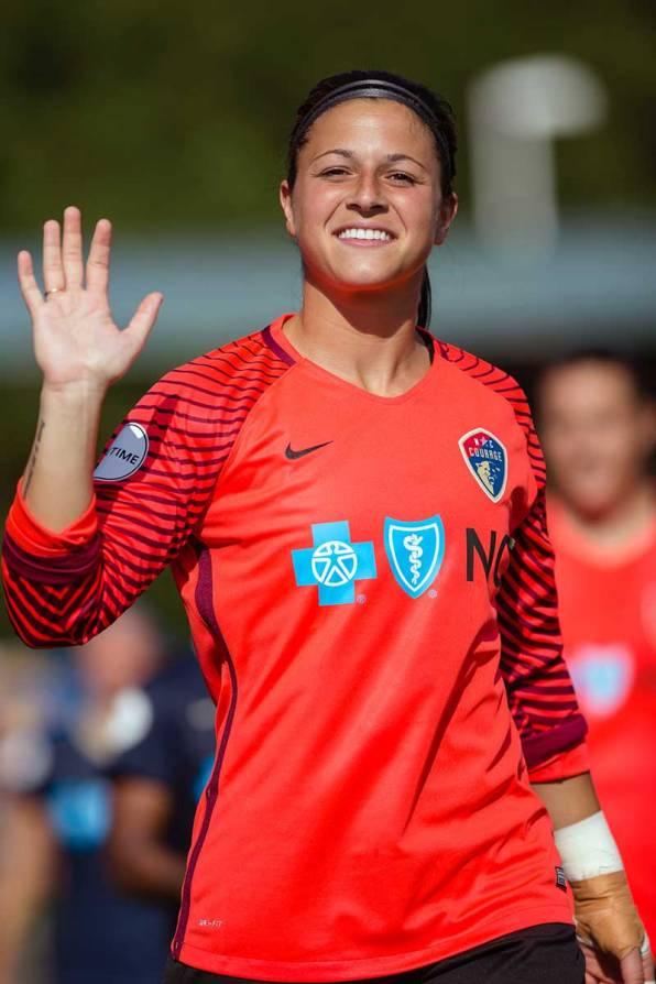 Sabrina D'Angelo of the North Carolina Courage. (Shane Lardinois)