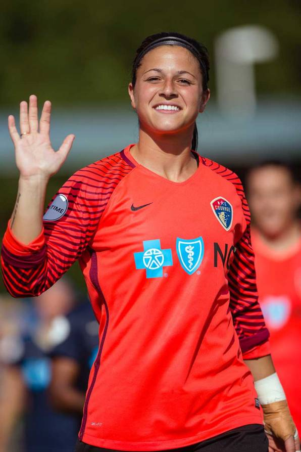 Sabrina D'Angelo of the North Carolina Courage. (Shane Lardinois)