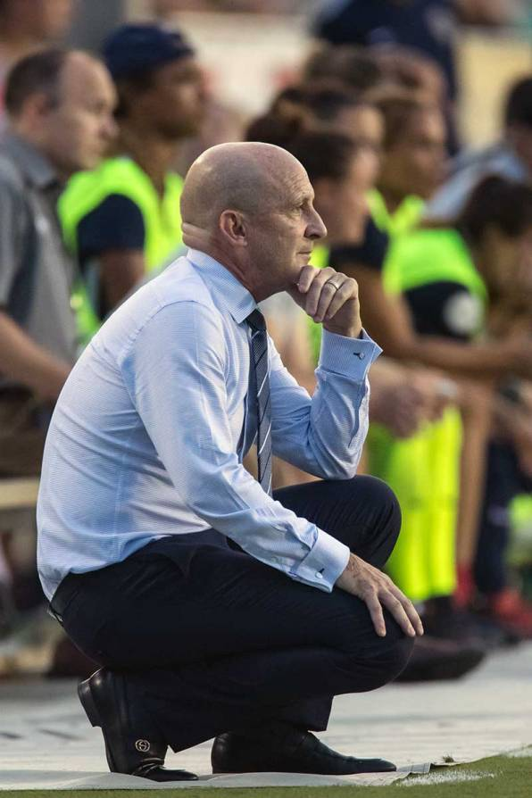 North Carolina Courage head coach Paul Riley. (Shane Lardinois)