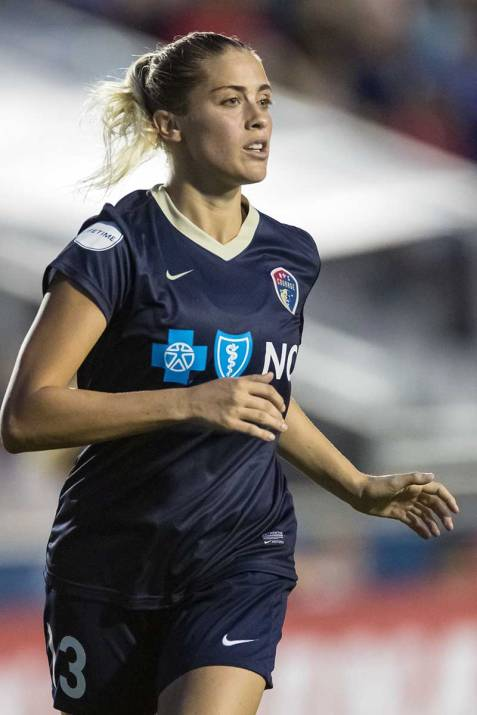 North Carolina Courage defender Abby Dahlkemper. (Shane Lardinois)
