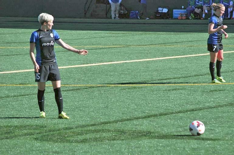 Megan Rapinor for the Seattle Reign (Hmlarson, WikiCommons)
