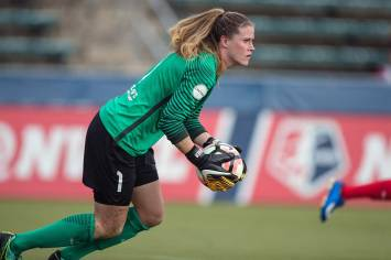 Alyssa Naeher of the Chicago Red Stars. (Shane Lardinois)