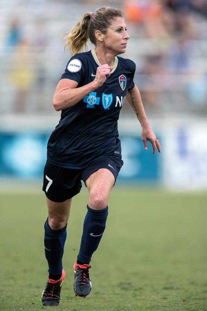 McCall Zerboni of the North Carolina Courage. (Shane Lardinois)