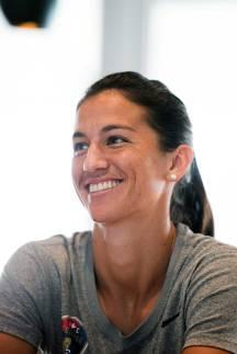 Abby Erceg, captain of the North Carolina Courage. (Monica Simoes)
