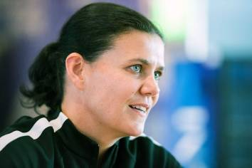 Christine Sinclair. (Monica Simoes)