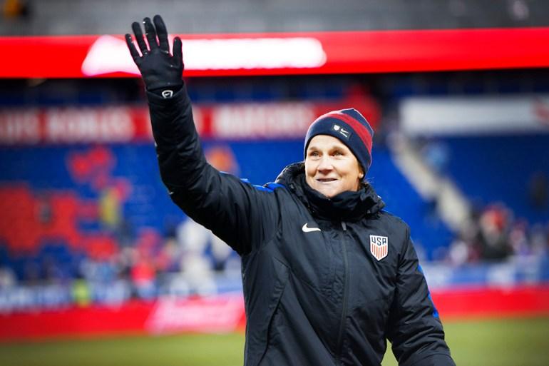 U.S. Women's National Team head coach Jill Ellis (Monica Simoes).