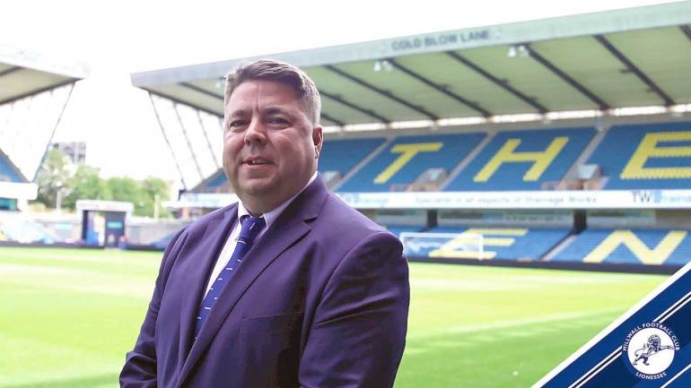 Chris Phillips, manager of Millwall Lionesses. (Millwall Lionesses)