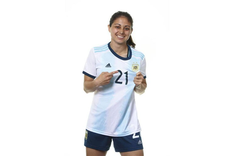 Argentina's Natalie Juncos. (Getty Images)