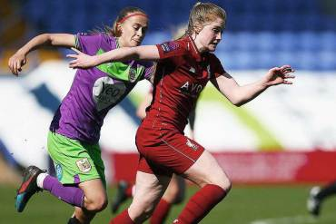 Amy Rodgers, midfielder for Liverpool. (Liverpool FC)