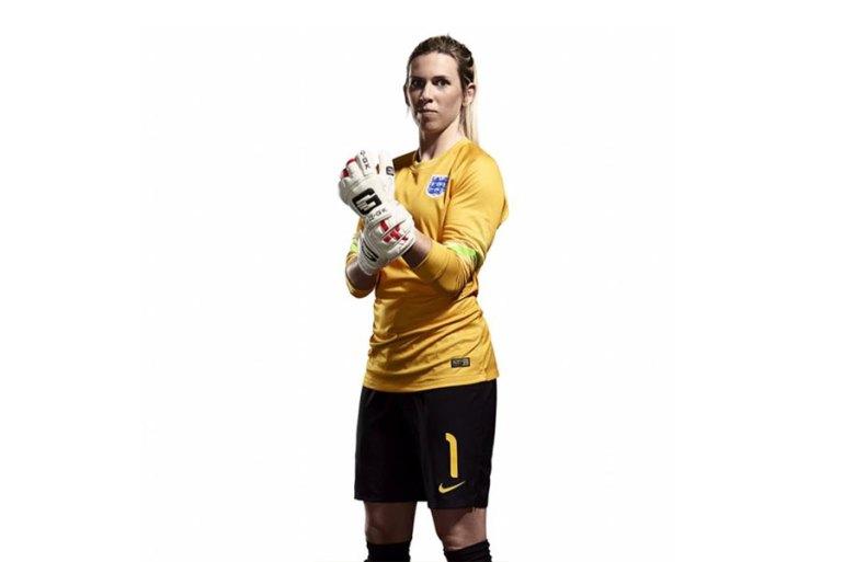England goalkeeper Carly Telford. (The FA)