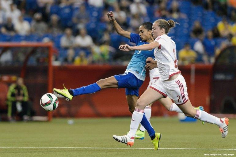 Spain's Celia Jimenez Delgado. (Minas Panagiotakis / Getty Images)
