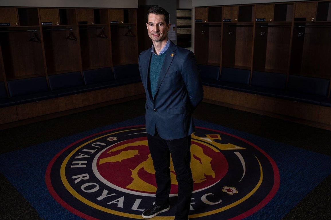 Craig Harrington, head coach of Utah Royals FC. (Utah Royals FC)