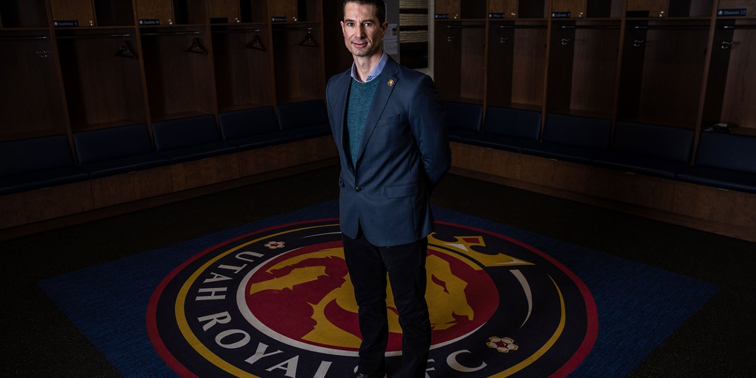 Craig Harrington, head coach of Utah Royals FC. (Utah Royals FC)
