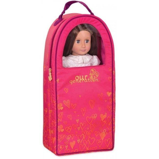 Our Generation Classic Doll Carrier Hearts