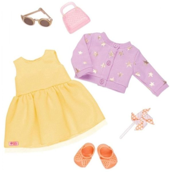 Our Generation Summer Dress Outfit Sunshine and Stars