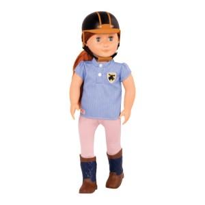 Our Generation Doll Elliet 18 inch Chestnut