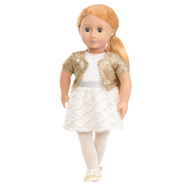 Our Generation Classic Doll Holiday Hope 18 inch Blonde