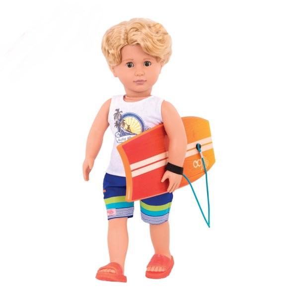 Our Generation Boy Surfer Gabe 18inch