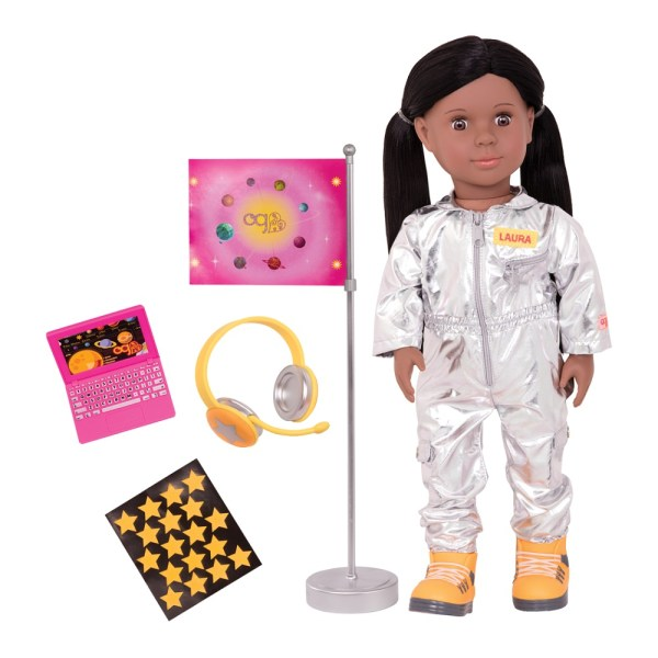 Our Generation 18inch Astronaut Doll Laura