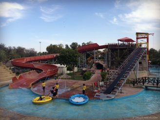 Slides at Dreamland UAQ