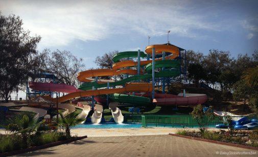 Slides at Dreamland UAQ