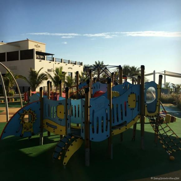 Doubletree Marjan Island kids Play Park | Hotel Resort Review | OurGlobetrotters.Com