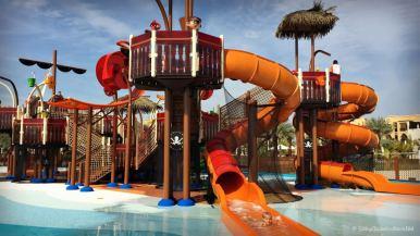 Best Beach Resorts in the UAE | Doubletree by Hilton Marjan Island Ras Al Khaimah | Pirate Boat Slides