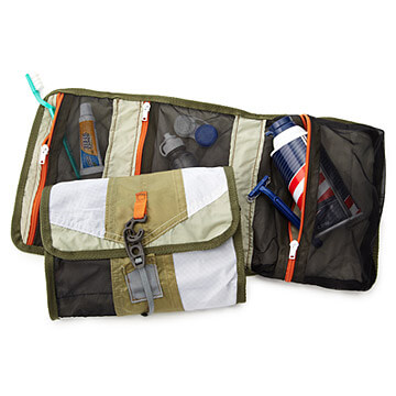Up-cycled Tent Toiletry bag | Gift ideas for men from Uncommon Goods