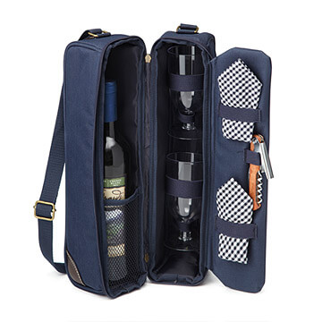 Travelling Wine Tote | Travel Gift Ideas for Men from Uncommon Goods