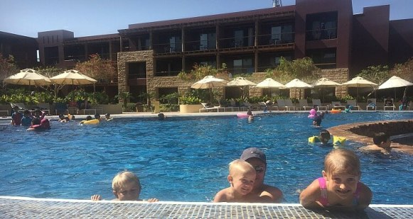 Movenpick Resort & Spa Tala Bay Jordan - Family Accommodation Review with the Globetrotters