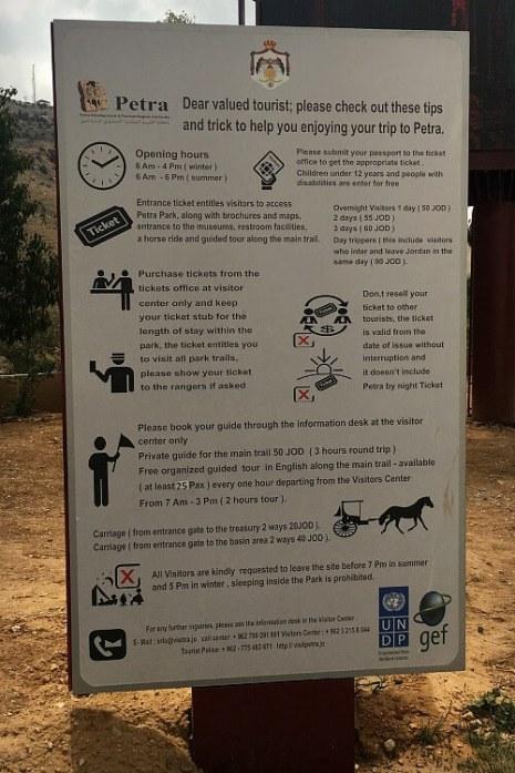 Petra park information