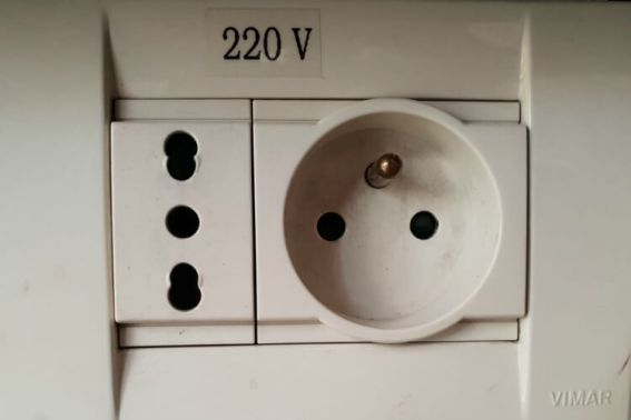 Interesting power sockets at Gefinor Rotana Beirut a family-friendly hotel option in Lebanon   Our Globetrotters Family Travel Blog Hotel Review