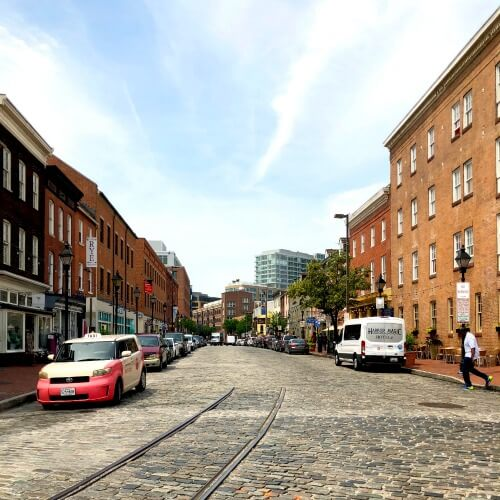 Fells Point Neighbour Baltimore Maryland How to see Baltimore in 24 hours with Kids | Our Globetrotters Explore My City