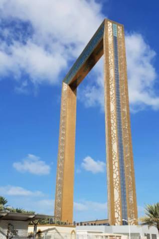 The Dubai Frame in Zabeel Park Dubai