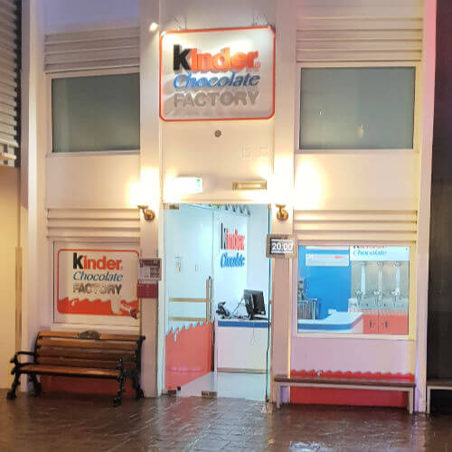 Kidzania Dubai Review | Chocolate factory