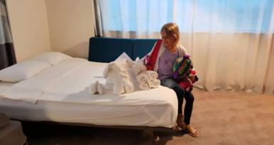 Towel Art | Novotel World Trade Centre Dubai Family Review