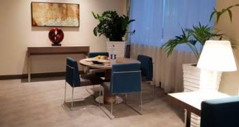 Dining room of the suite | Novotel World Trade Centre Dubai Family Review