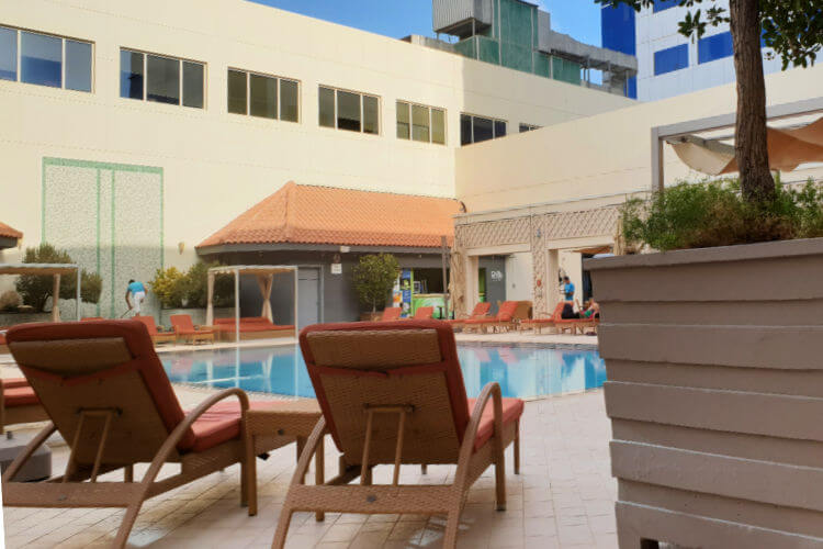 Poolside | Novotel World Trade Centre Dubai Family Review