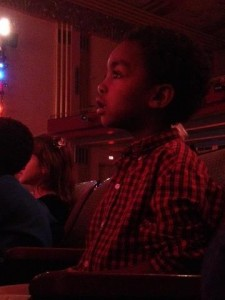 absolutely enthralled with the Christmas production