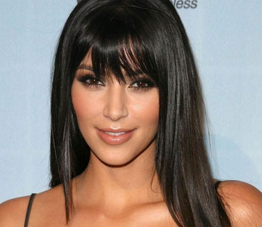 How to get Kim Kardashian Straight Hairstyle