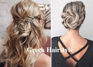 Greek Hairstyle for woman