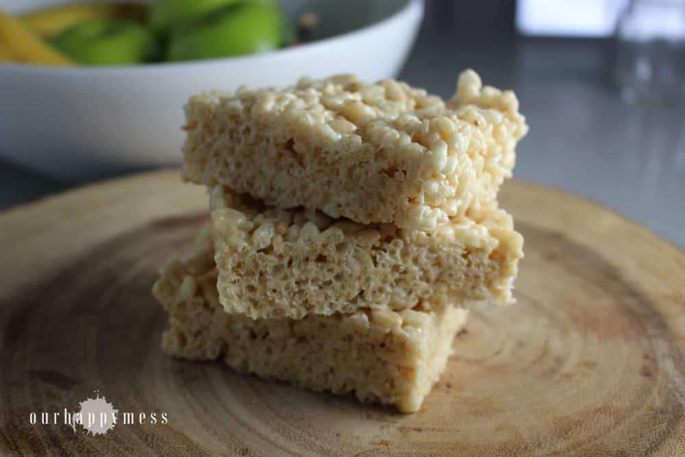 Brown Butter Crispy Rice Treats