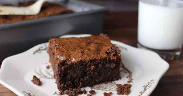 Our Favorite Fudgy Brownies from Scratch
