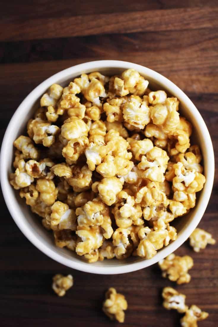 Easy Awesome Caramel Corn