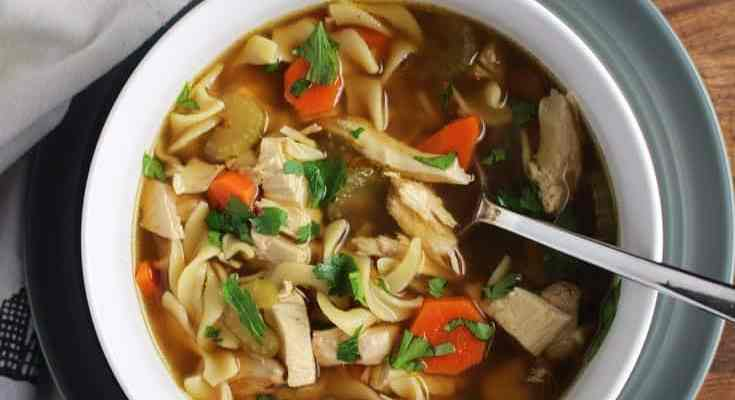Quicker Chicken Noodle Soup