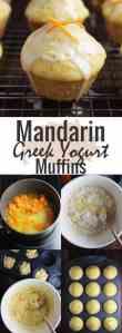 Mandarin orange muffins process