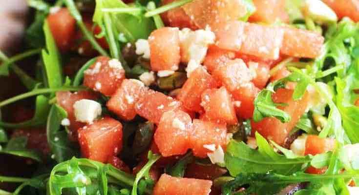 Mexican Watermelon Salad Recipe