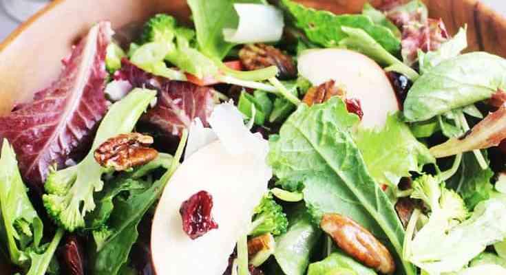 Fall Salad with Maple Vinaigrette