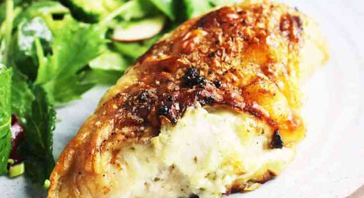 Roasted Chicken Breasts with Boursin